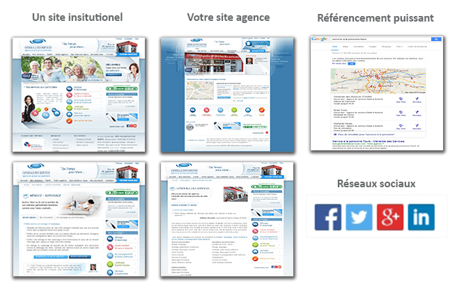 supports communication web franchise aide a la personne