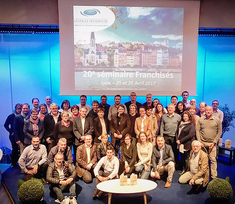 Franchisés GDS 20e séminaire Lyon